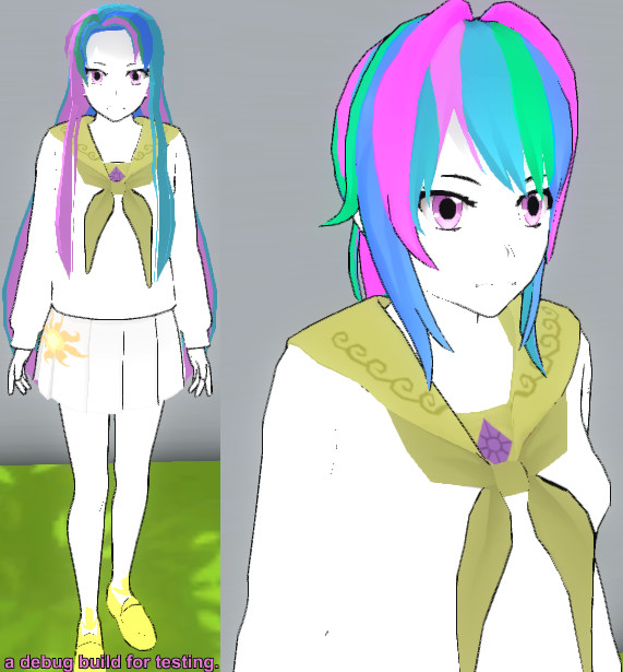 Yandere Sim Skin Princess Celestia By Televicat On Deviantart