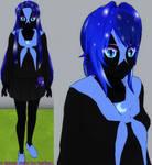 Yandere sim skin: Nightmare Moon