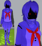 Yandere sim skin: Withered Bonnie