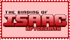 The Binding of Isaac Afterbirth stamp by TeleviCat