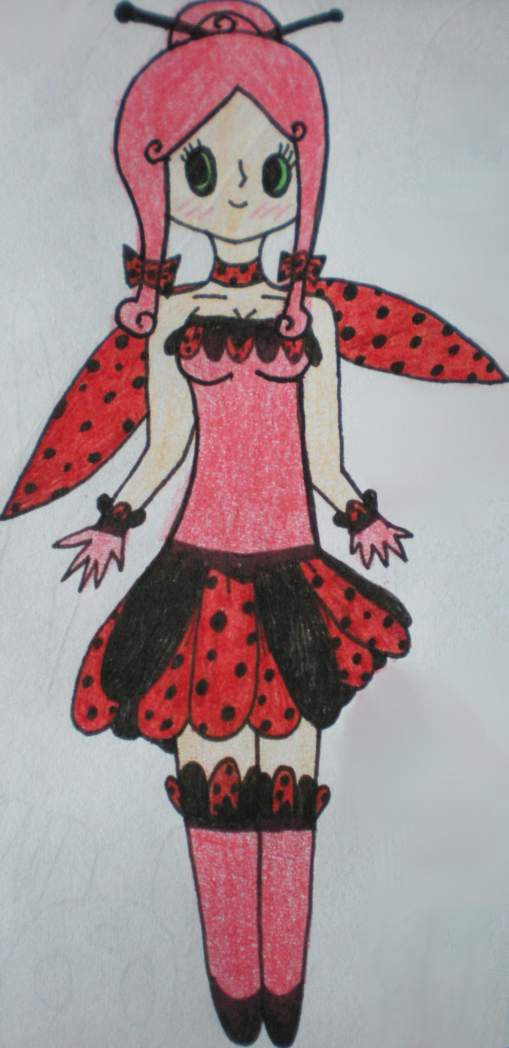 Cute Ladybug Outfit By TeleviCat On DeviantArt