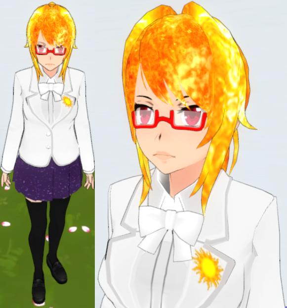 Yandere Sim Skin: Sun-sei By TeleviCat On DeviantArt