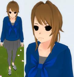 Yandere sim skin: Eddsworld Tom by TeleviCat