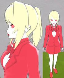 Yandere sim skin: Katie Killjoy by TeleviCat