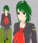 Yandere sim skin: Eliza Zambie by TeleviCat