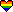 Rainbow Striped Heart Emote
