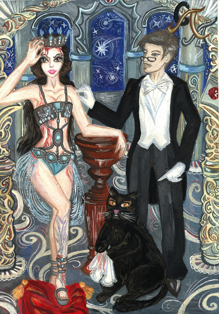 The Master and Margarita: Ball of Satan by Alexandra-Glazer
