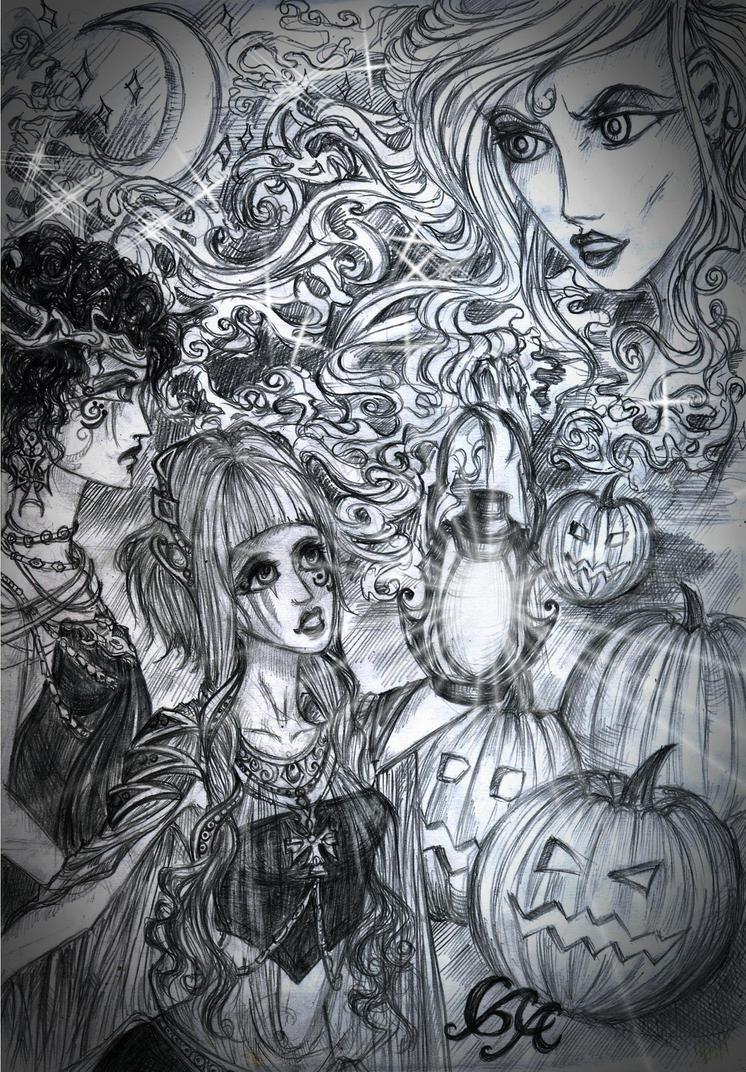 Phantom of Halloween by Alexandra-Glazer