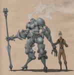 Paenacian Steam Knight