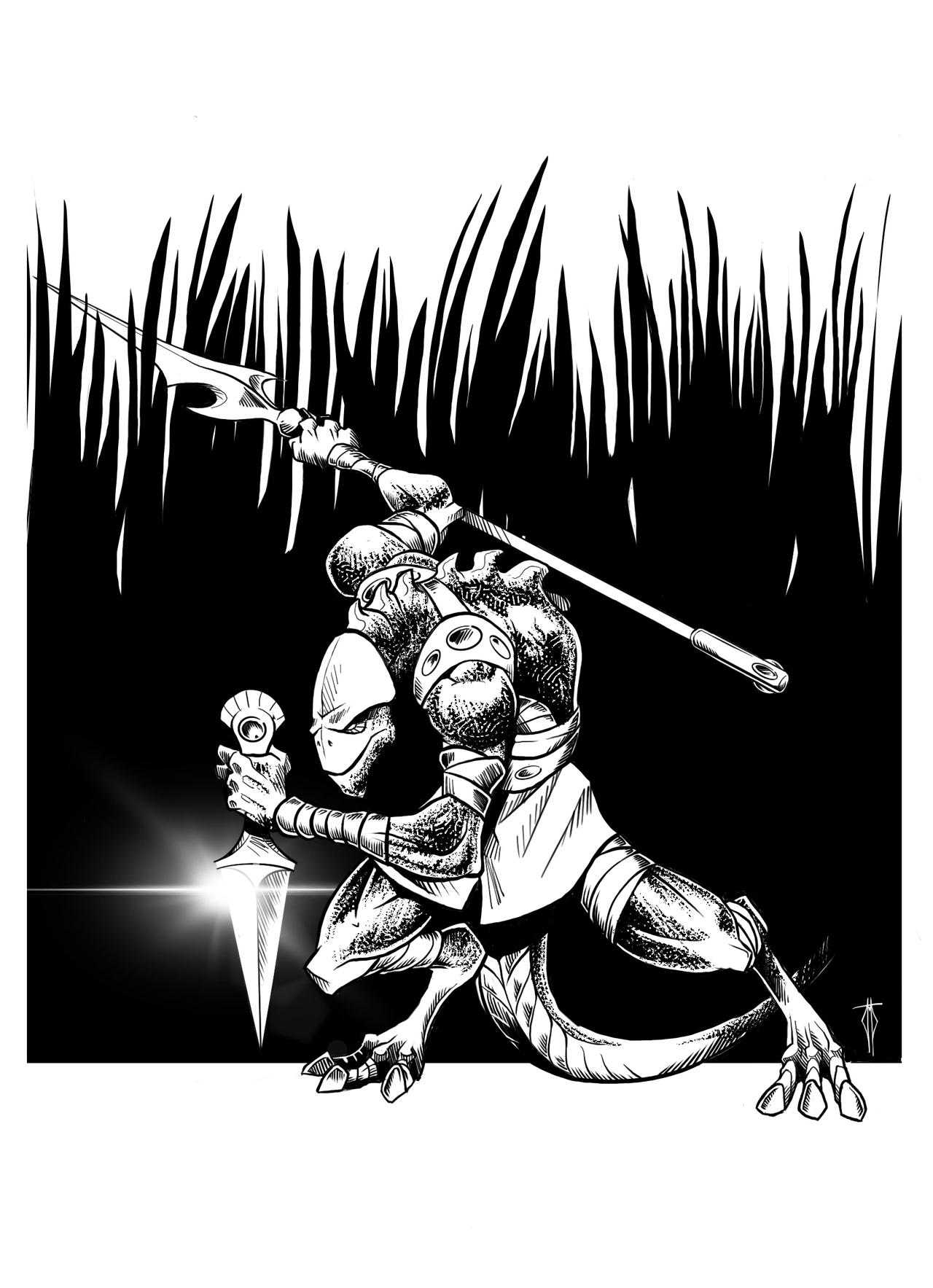 Agrabarian Lizardman