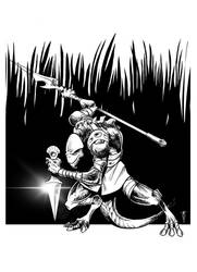 Agrabarian Lizardman by mateusmatooza