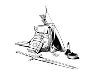 Sword Spell Skill - Inventory