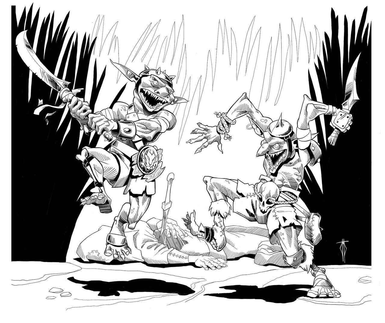 Goblin Squabble