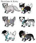 AuroraSnowXRathe pups [CLOSED]