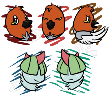 PKMNation: levels for my pokes by WhiteTigerGinger