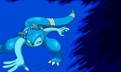 Archie's a bit blue
