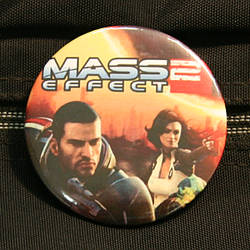 Mass Effect 2 campaign button
