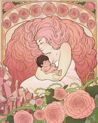 SHM 2015 Charity Piece - Rose Quartz