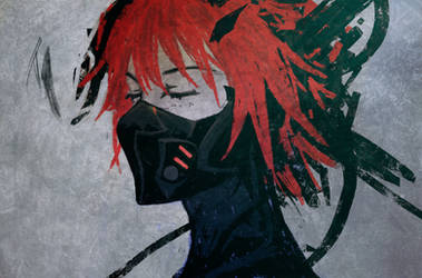 Cyberpunk Assassin by slyvanie