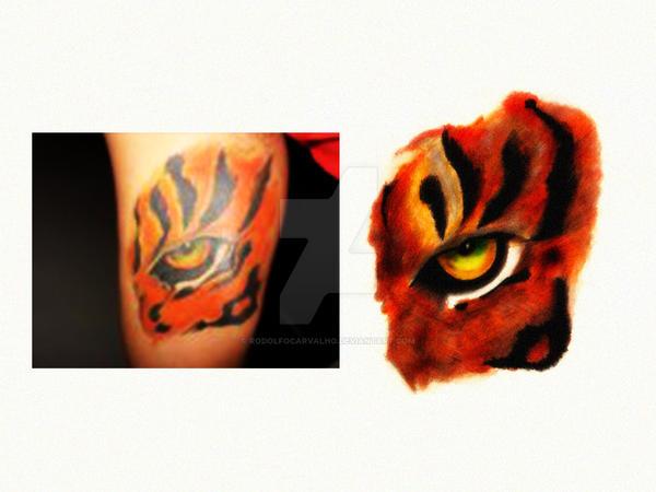 Eye Of The Tiger Tattoo By Rodolfocarvalho On Deviantart