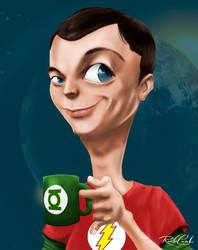 Sheldon Cooper by rodolfocarvalho