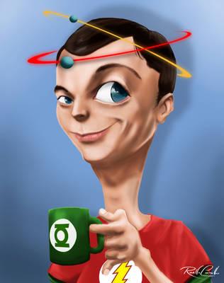 Sheldon Cooper Neutrons by rodolfocarvalho