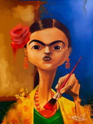 Frida Khalo by rodolfocarvalho