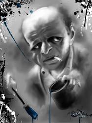 Jackson Pollock by rodolfocarvalho