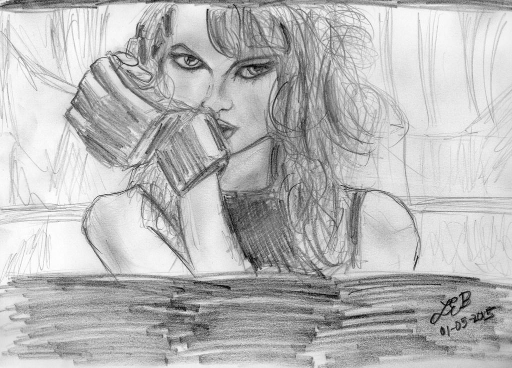 Taylor Swift - Bad Blood Music Video Sketch by LaurenBersek
