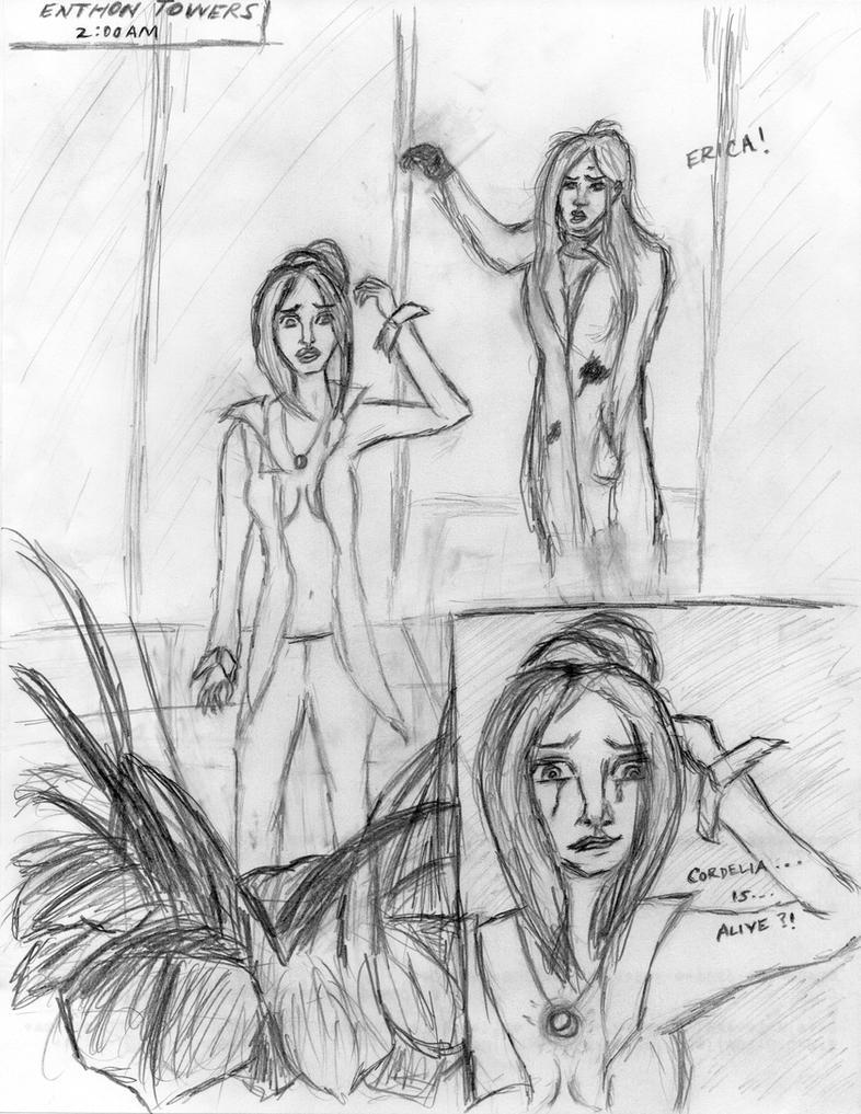 Cognition Graphic Novel - Cordelia x Erica, Page 1 by LaurenBersek