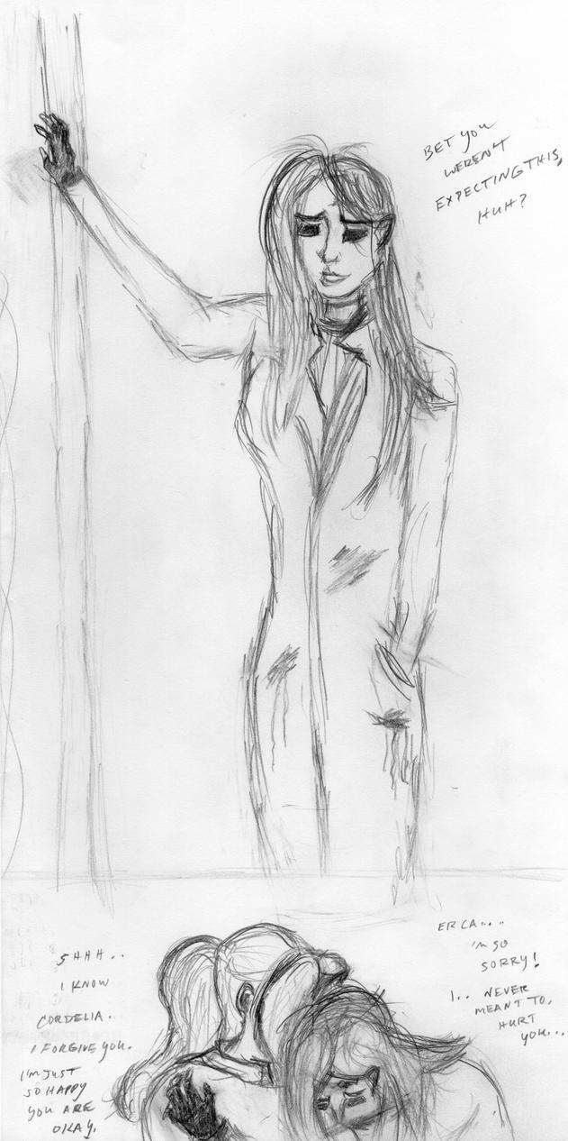 Cognition Graphic Novel - Cordelia x Erica, Page 2 by LaurenBersek