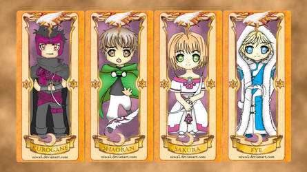 Chibi TRC in Clow Card by niwa5