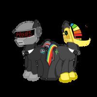 Daft Pony by seyrii