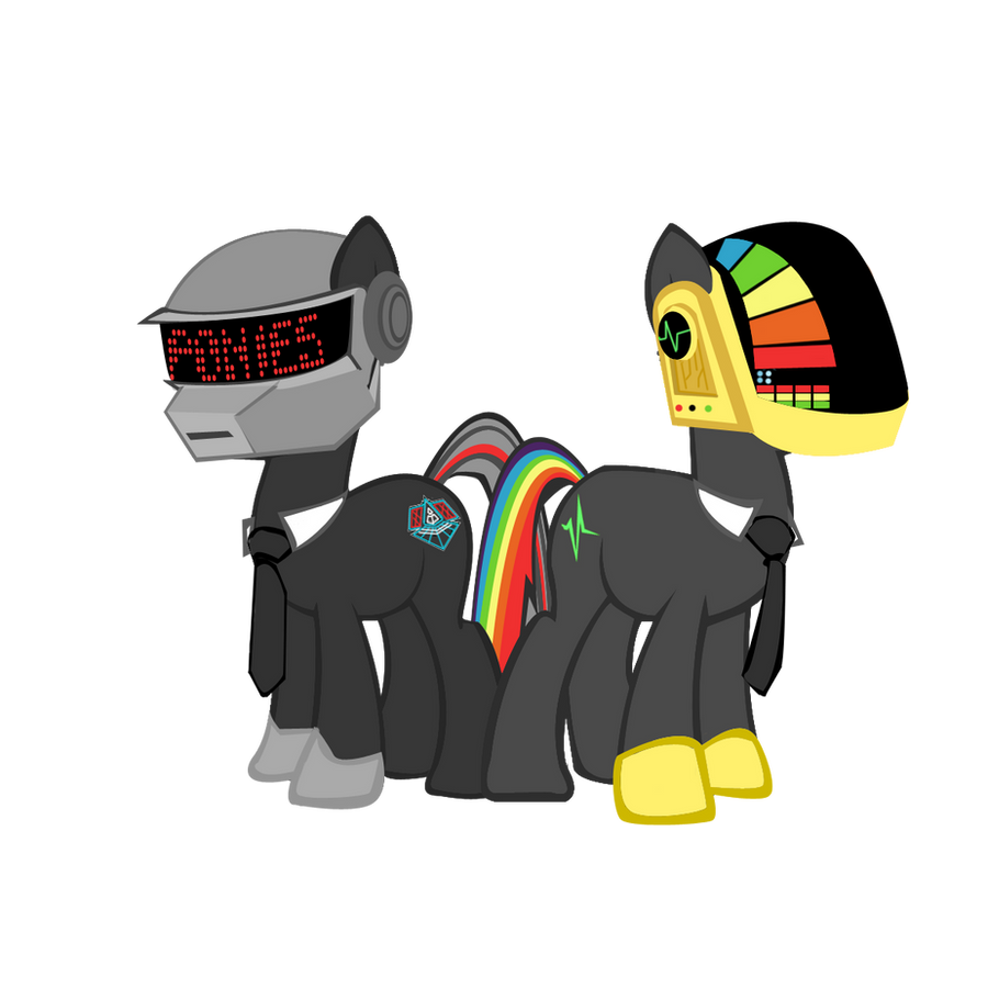 Daft Pony by seyrii