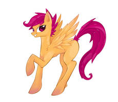 Scootaloo by seyrii
