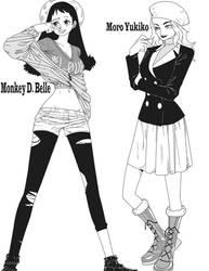 Belle and Yukiko