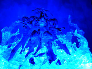 Bahamut Tremor-Mega Flare-Blue Flames FF7AC