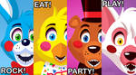 Prize Corner Poster from Five Nights At Freddy's 2