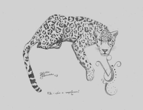 Leopard+Capricorn Tattoo by ~FarFallaLoduca on deviantART