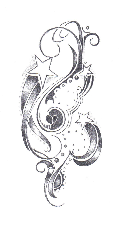 star tattoo for shannon by farfallaloduca on deviantart. Black Bedroom Furniture Sets. Home Design Ideas