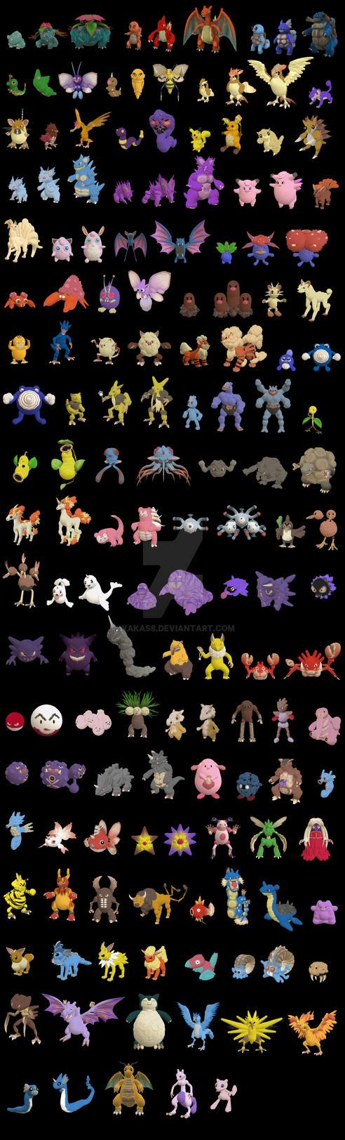 Pokemon in Spore by wakas8