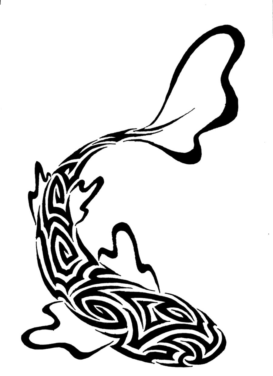 Votre fiche est terminée ? - Page 6 Tribal_fish_by_fensterfisch