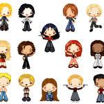 Anita Blake pixel dolls - more by Nekomancer-Tei