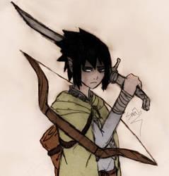 Elf Sasuke by LightsChips