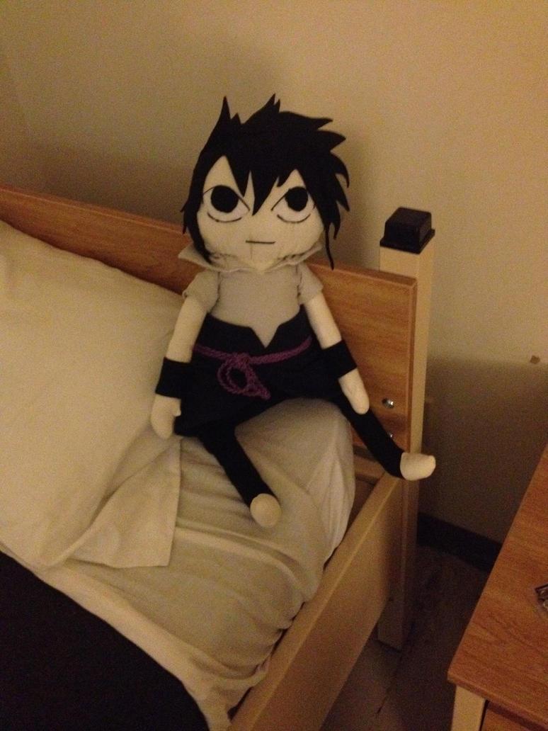 Giant Taka Sasuke plush by LightsChips