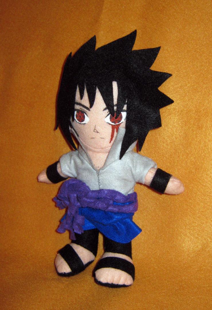 Sasuke Taka plush by LightsChips
