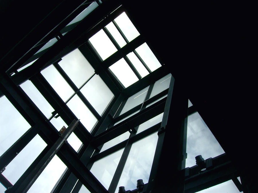 Glass Elevator 2 by Ninde