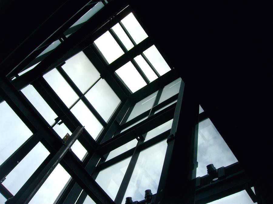 Glass Elevator 2 by Ninde