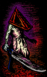 Red Pyramid Thing by walterjohnhunt