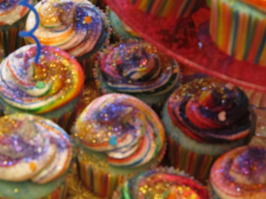 Rainbow Unicorn Poop Cupcakes by CloudsnowDawndust on DeviantArt Unicorn Poop Cupcakes